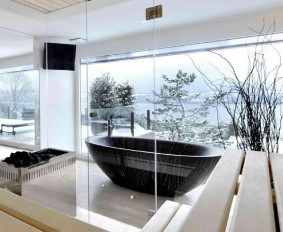 Absolutely Incredible Natural Wooden Bathtub Designs