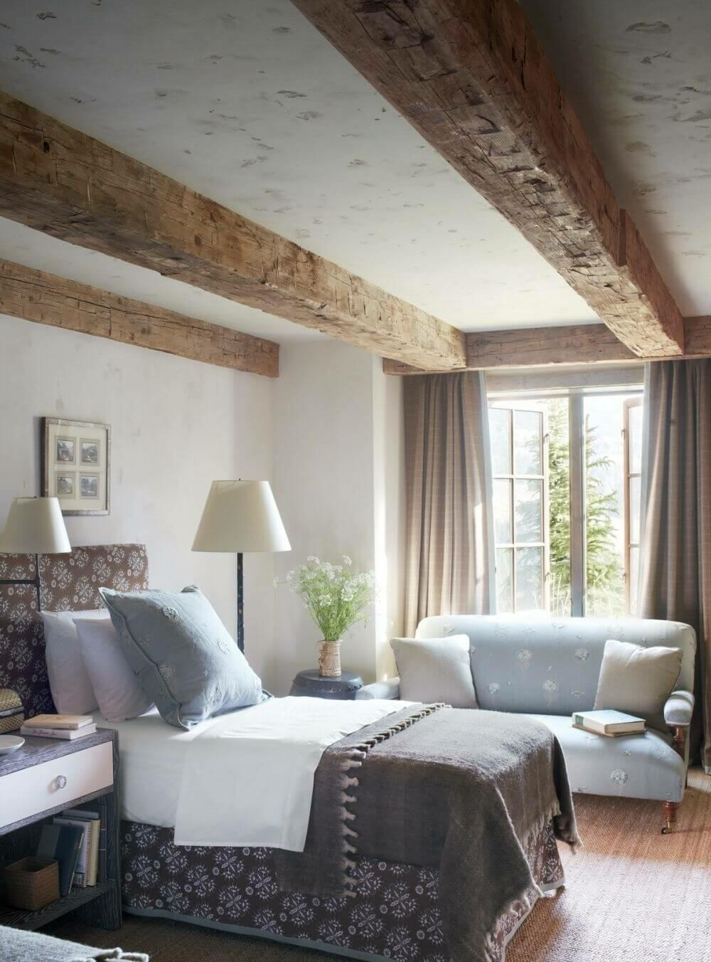 13 Rustic Design Ideas to Make Your Bedroom More Natural and Cozy