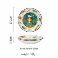 8in round plate
